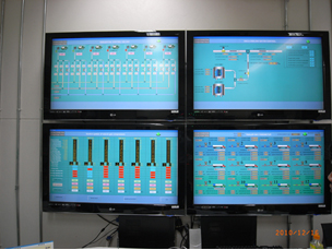 CNG Refueling Station SCADA System(Supervisory Control And Data Acquisition)