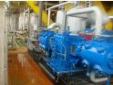 Type D-70/3-27 Natural Gas Compressor is in operation